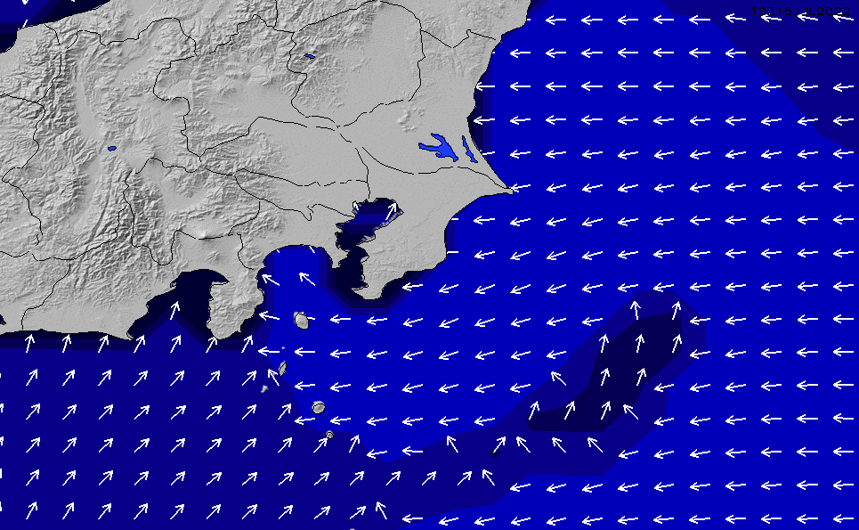 2020/1/30(木)9:00ポイントの波周期