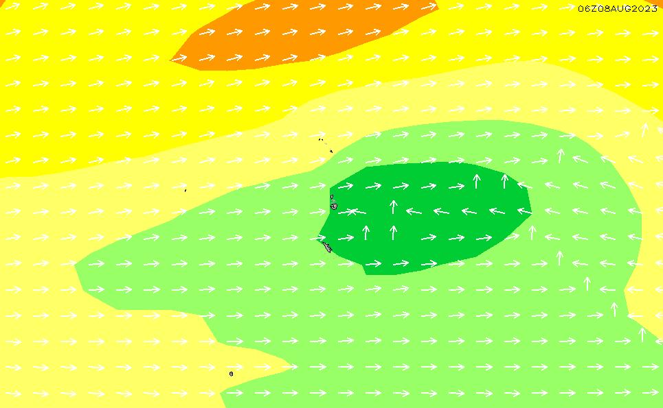 2021/3/5(金)3:00波高チャート
