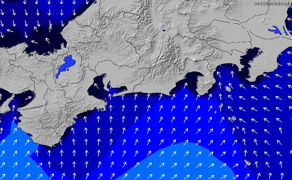 2020/2/21(金)9:00ポイントの波周期