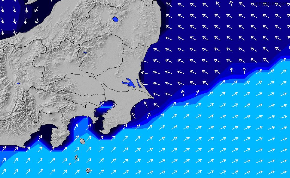 2020/2/29(土)9:00ポイントの波周期