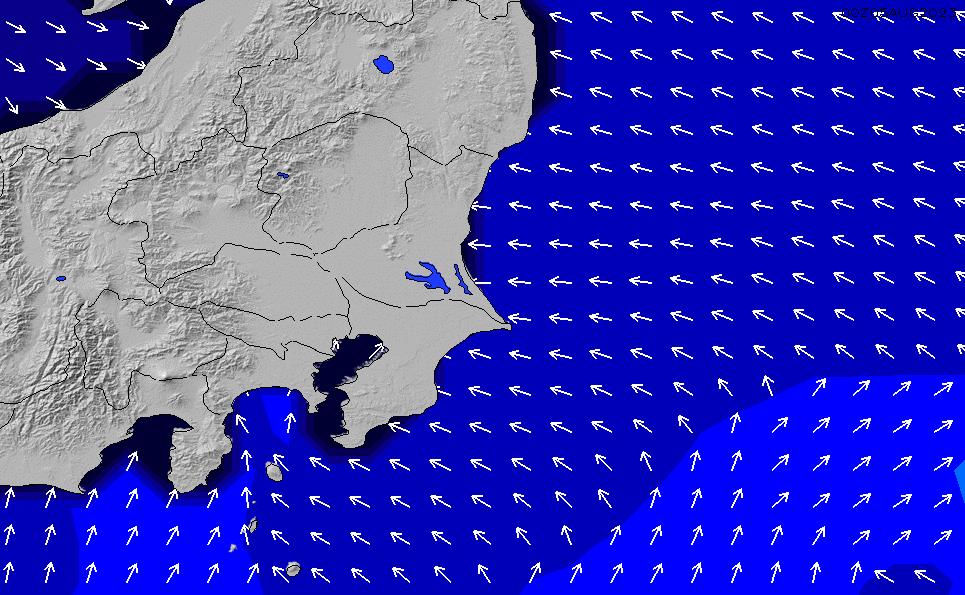 2020/7/10(金)9:00ポイントの波周期