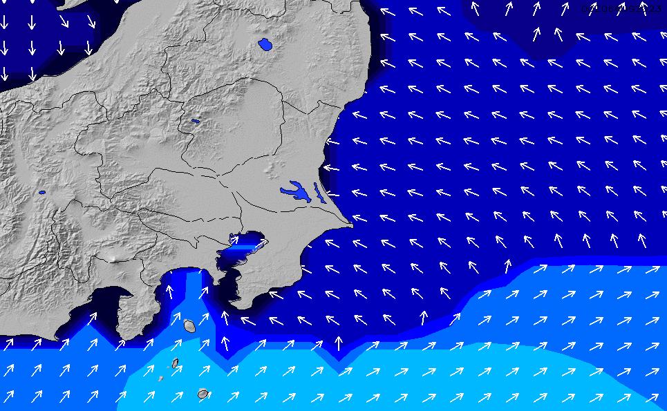 2020/2/20(木)21:00ポイントの波周期
