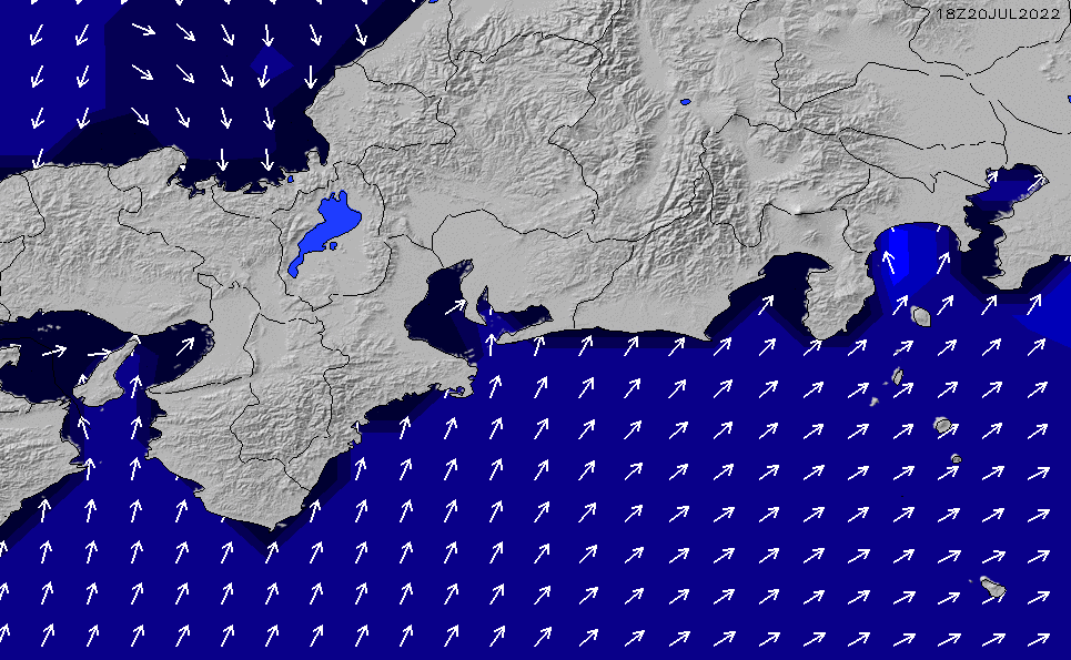 2021/10/21(木)9:00ポイントの波周期