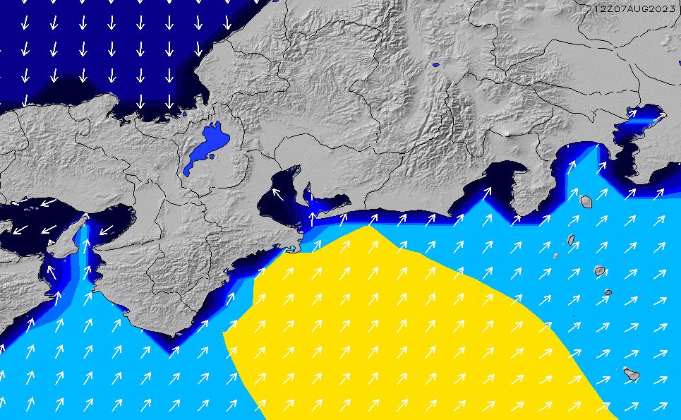 2021/1/18(月)9:00ポイントの波周期