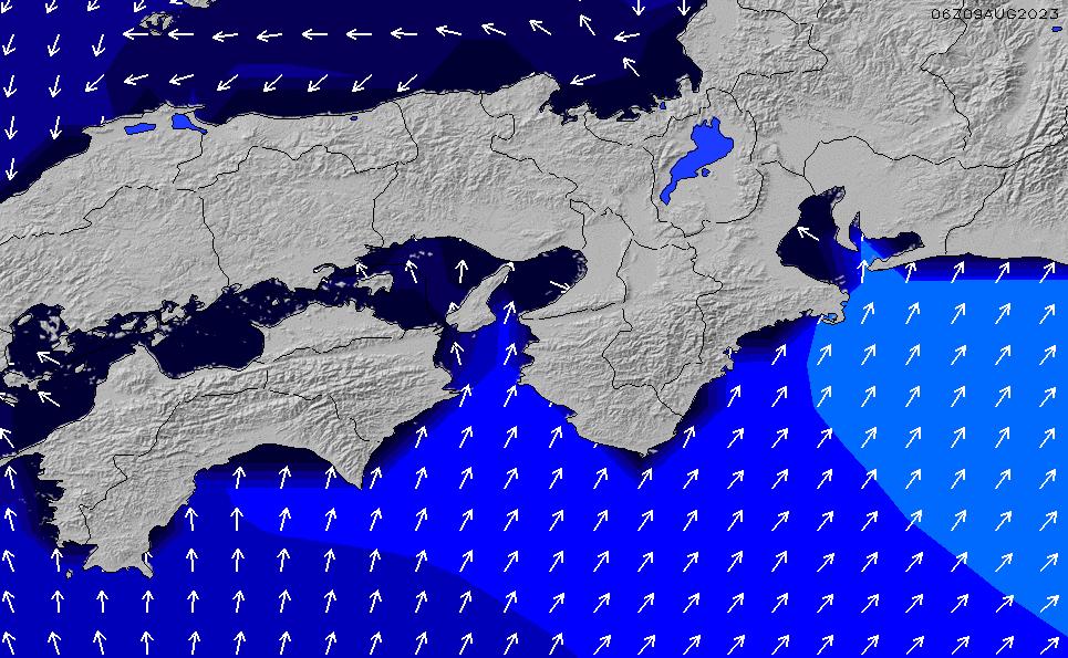 2020/9/24(木)21:00ポイントの波周期