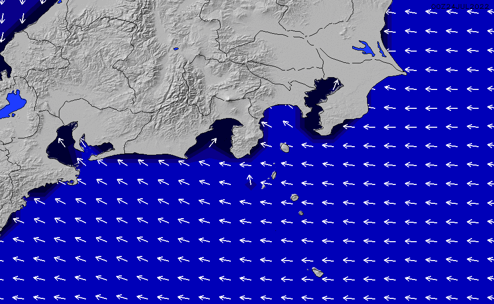 2020/2/18(火)9:00ポイントの波周期