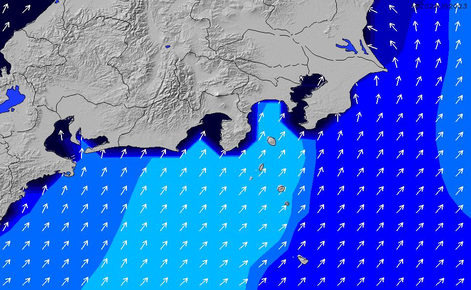 2020/9/26(土)3:00ポイントの波周期