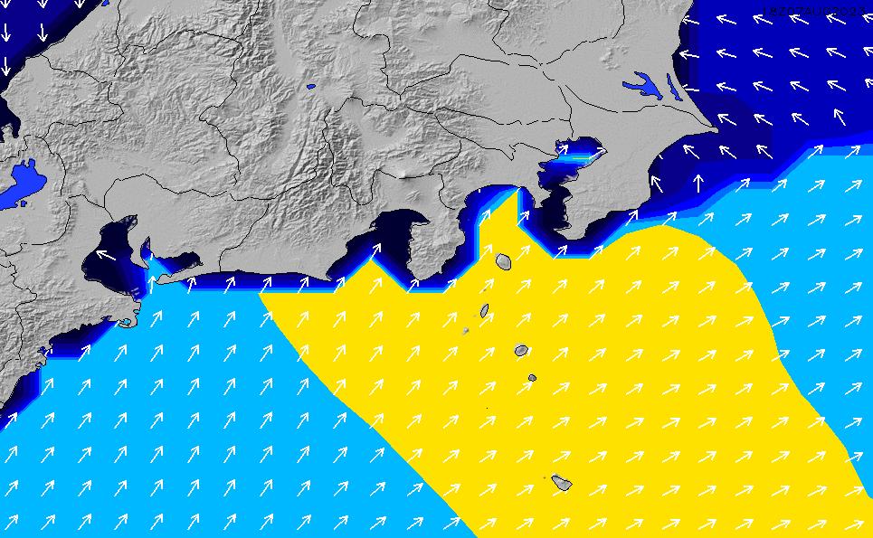 2020/7/15(水)3:00ポイントの波周期