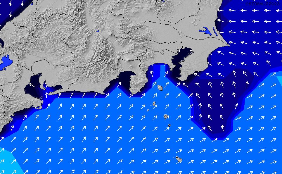 2020/1/29(水)9:00ポイントの波周期