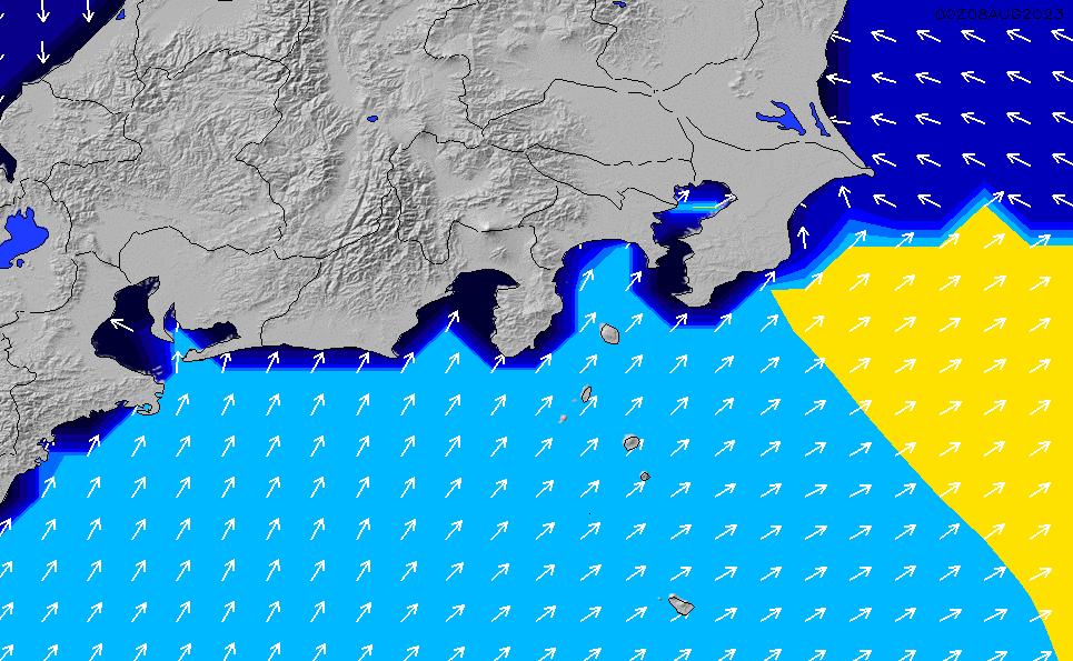2020/7/11(土)3:00ポイントの波周期