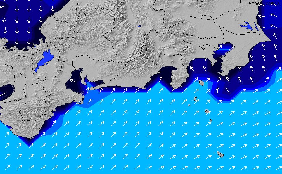 2021/5/10(月)21:00ポイントの波周期