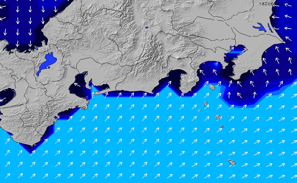 2020/1/20(月)15:00ポイントの波周期