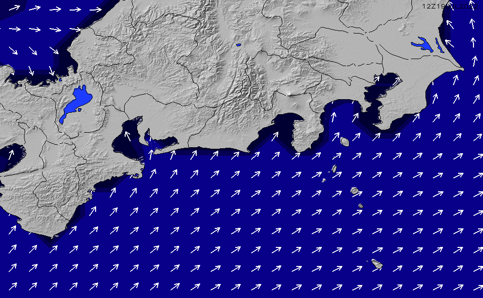 2021/7/31(土)9:00ポイントの波周期