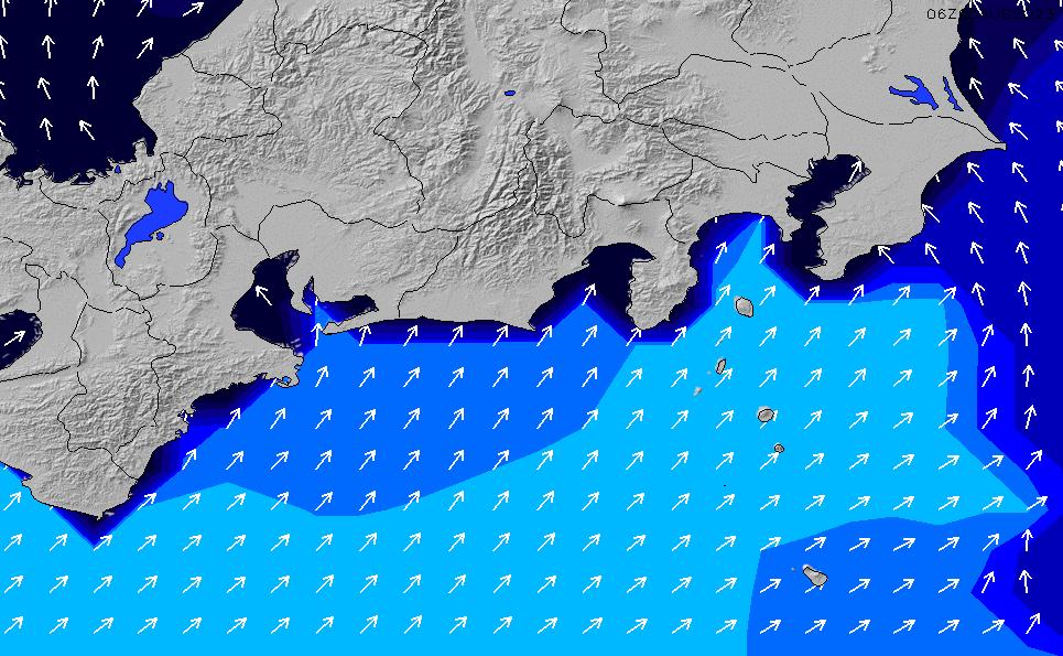 2020/1/19(日)9:00ポイントの波周期