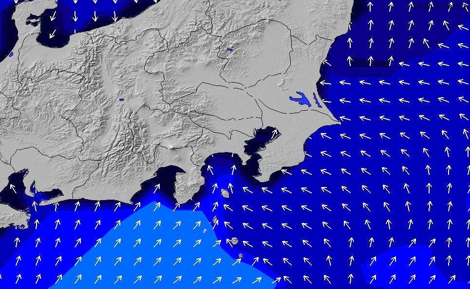 2021/5/9(日)9:00ポイントの波周期