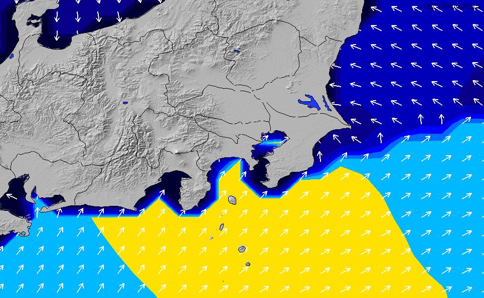 2021/5/14(金)21:00ポイントの波周期