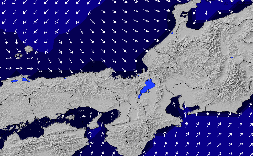 2021/5/17(月)15:00ポイントの波周期