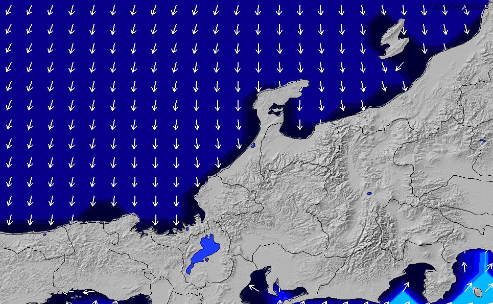 2020/1/18(土)21:00ポイントの波周期