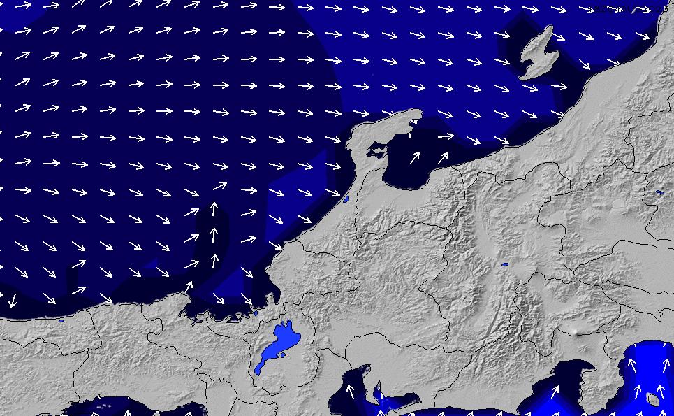 2021/2/26(金)21:00ポイントの波周期
