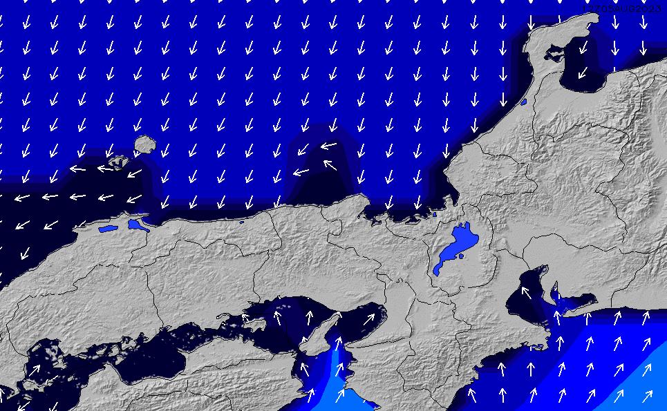 2020/2/28(金)9:00ポイントの波周期