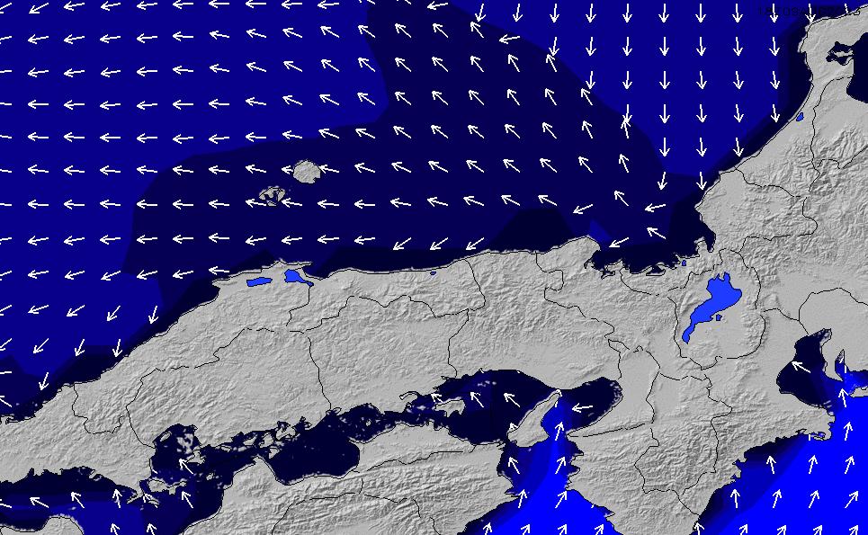 2020/2/17(月)21:00ポイントの波周期