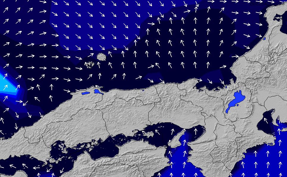 2020/4/8(水)3:00ポイントの波周期