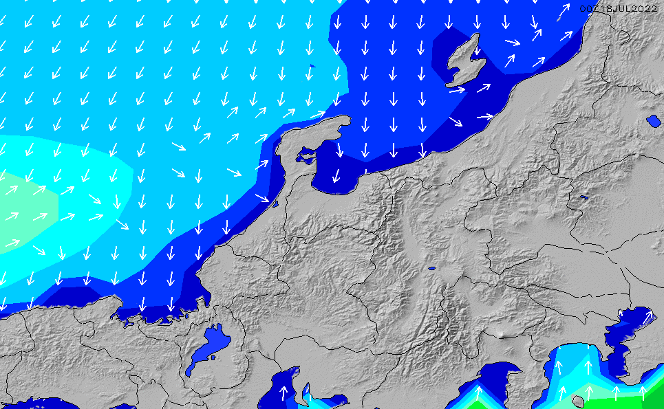 2021/3/3(水)15:00波高チャート