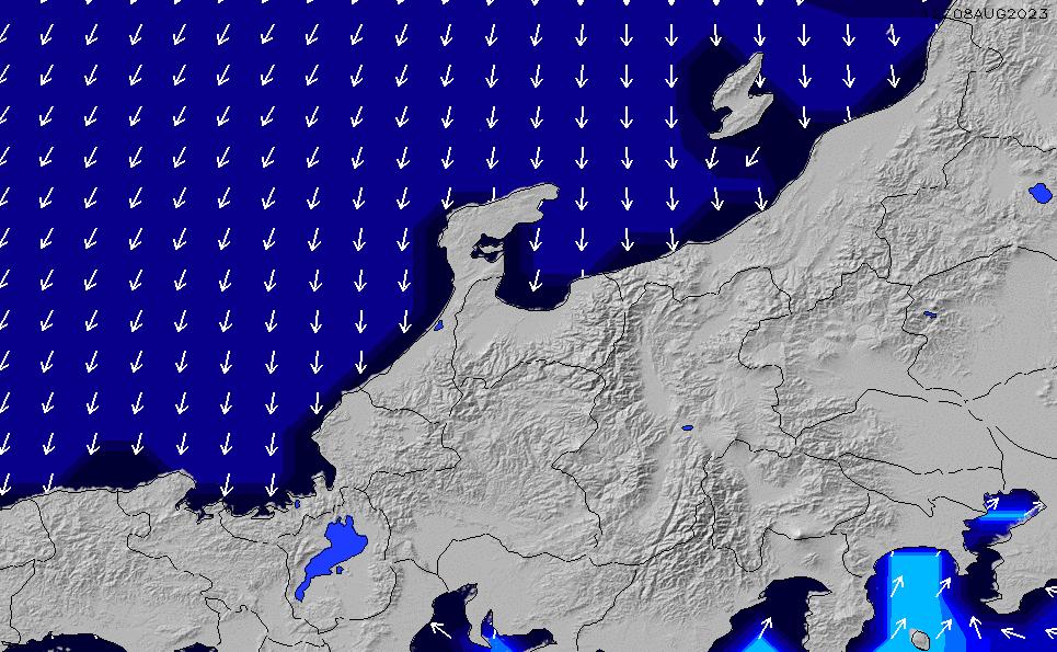 2021/3/8(月)15:00ポイントの波周期