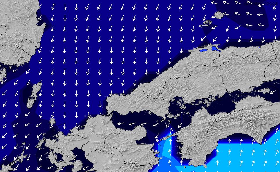 2021/2/28(日)9:00ポイントの波周期