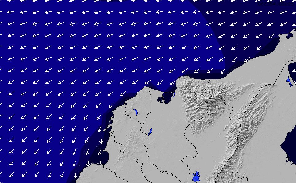 2021/3/4(木)23:00ポイントの波周期
