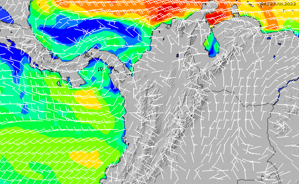 2021/5/12(水)23:00風速・風向