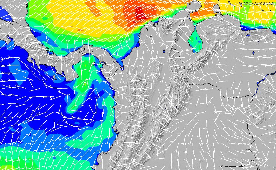 2021/5/17(月)11:00風速・風向