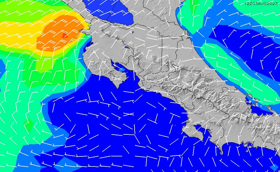 2021/5/12(水)12:00風速・風向