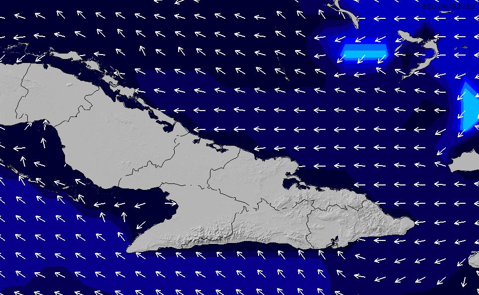 2021/6/16(水)22:00ポイントの波周期