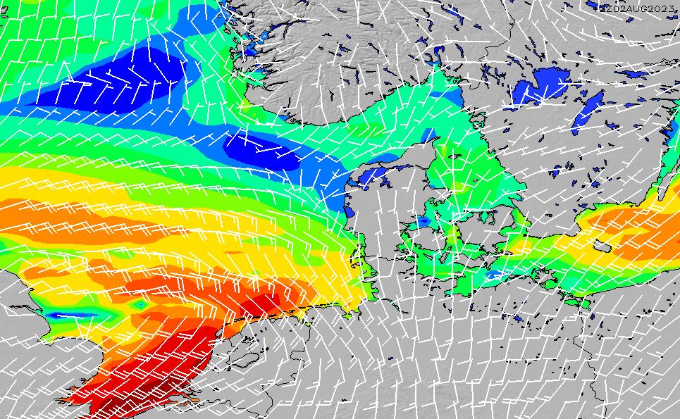 2020/11/30(月)19:00風速・風向