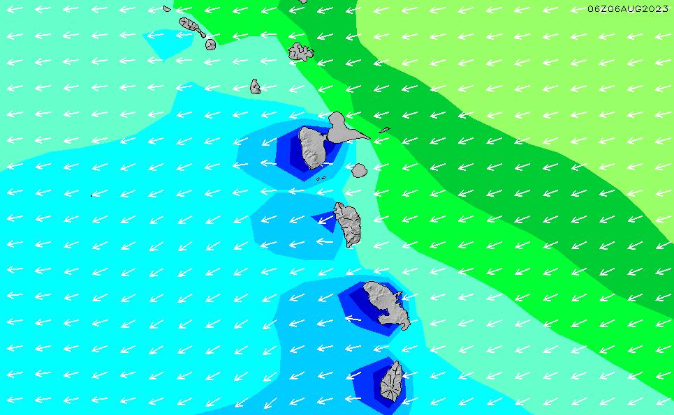 2021/7/28(水)10:00波高チャート