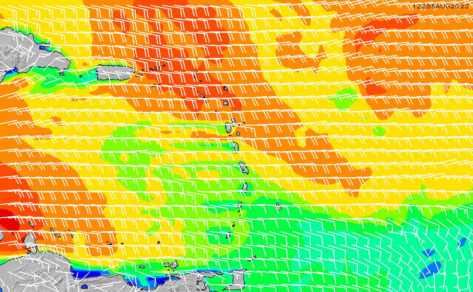 2021/5/17(月)22:00風速・風向