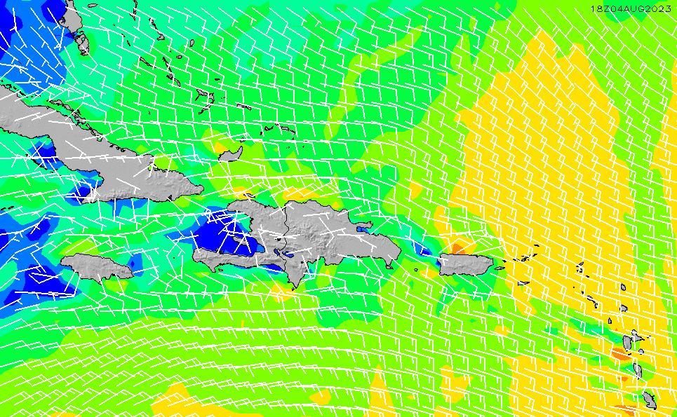 2021/3/3(水)16:00風速・風向