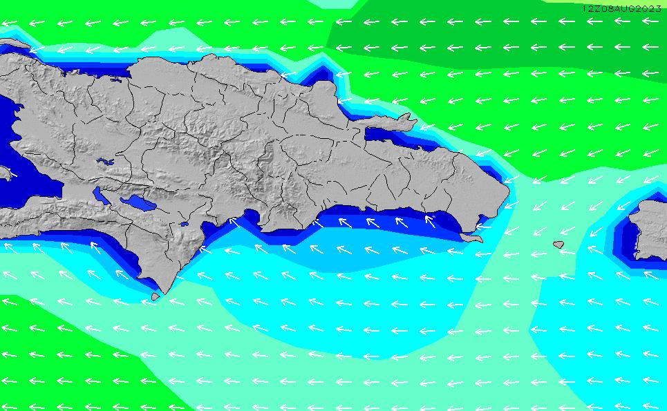 2021/6/16(水)22:00波高チャート