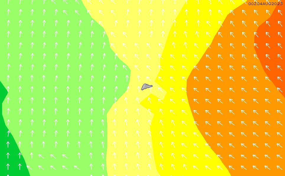 2020/4/2(木)17:00波高チャート