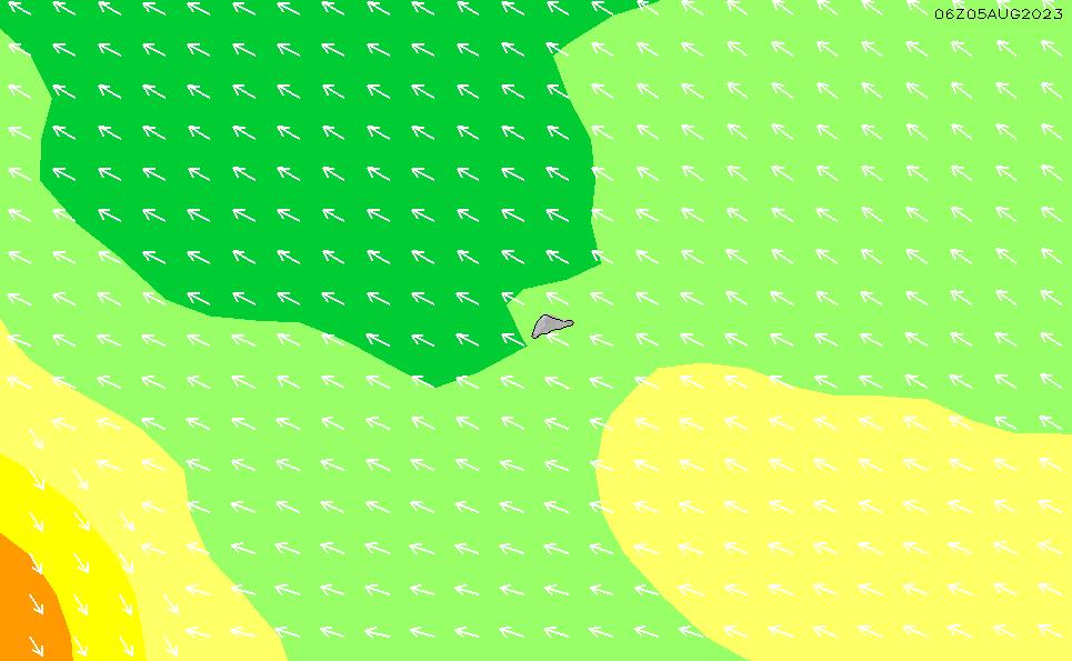 2021/5/12(水)0:00波高チャート
