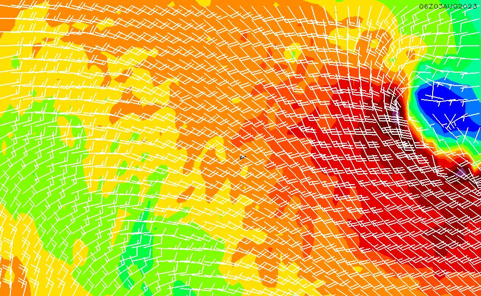 2020/4/2(木)17:00風速・風向