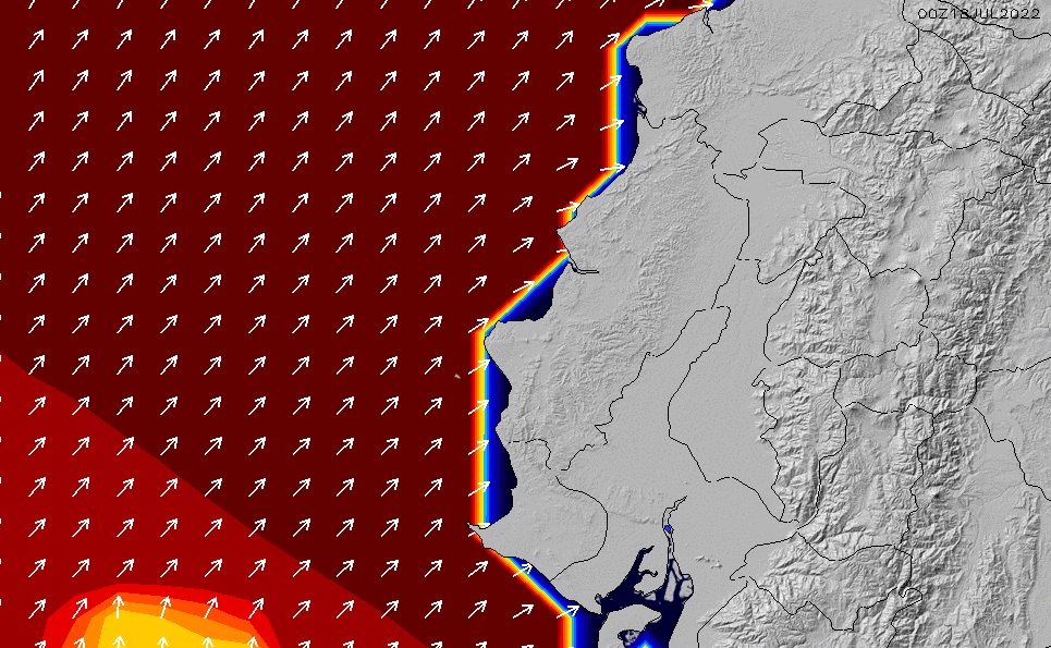 2021/3/3(水)11:00ポイントの波周期