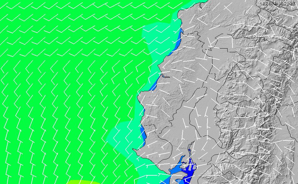 2020/9/26(土)17:00風速・風向