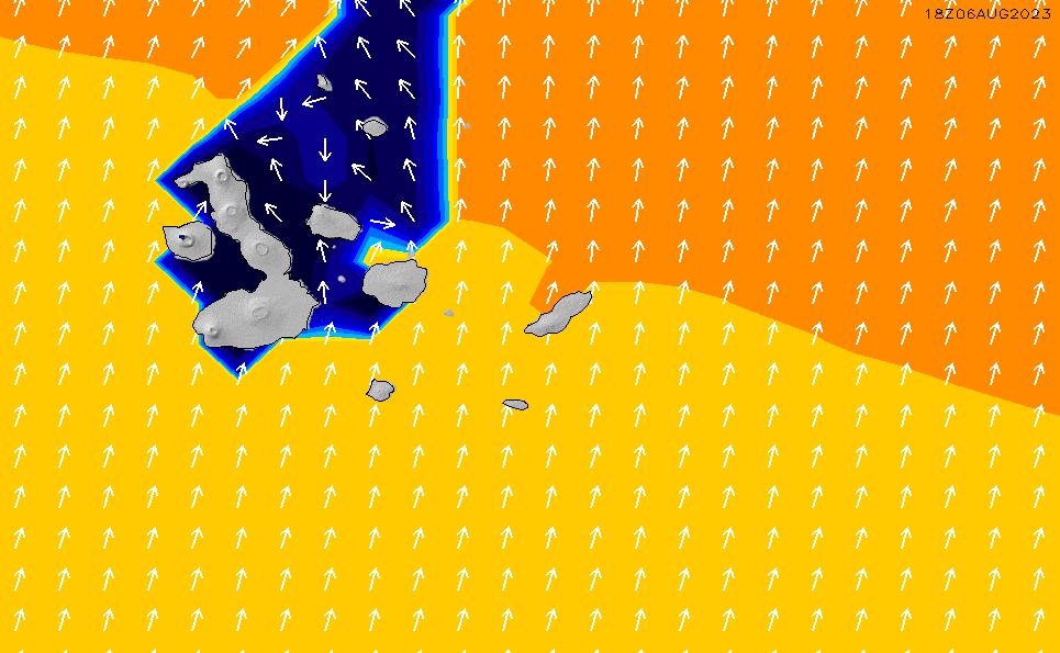 2021/5/14(金)23:00ポイントの波周期