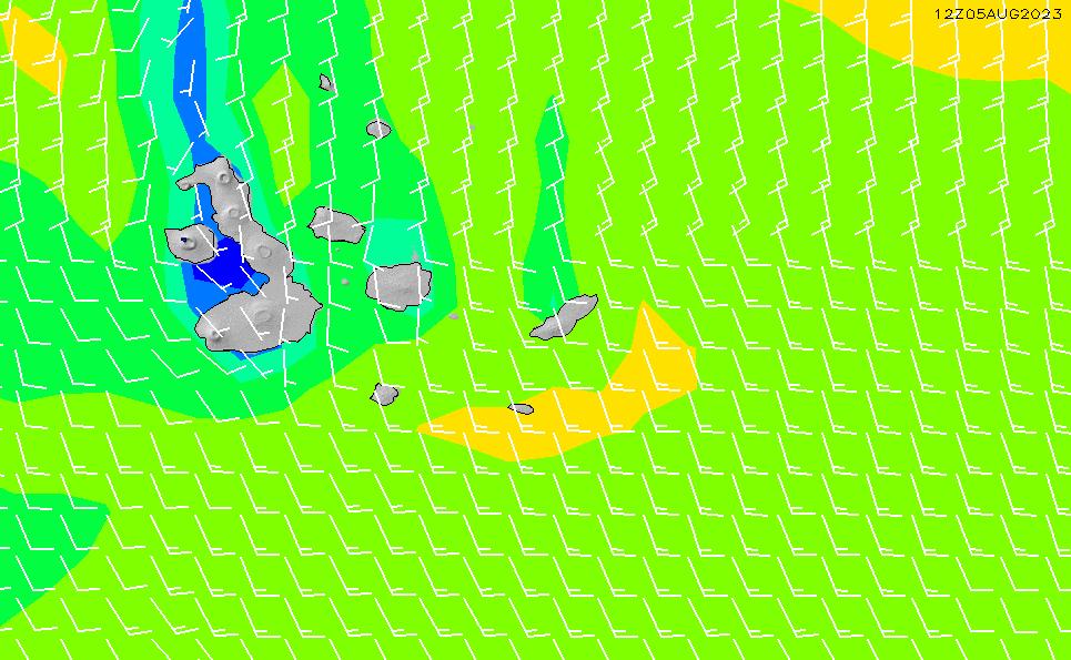 2021/5/14(金)23:00風速・風向