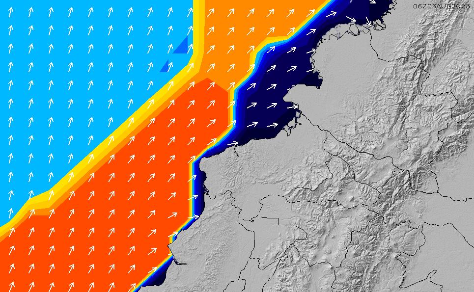 2021/7/28(水)5:00ポイントの波周期