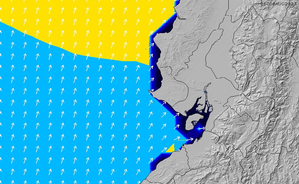 2020/9/21(月)5:00ポイントの波周期