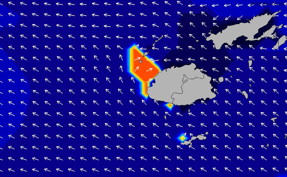 2020/4/3(金)0:00ポイントの波周期