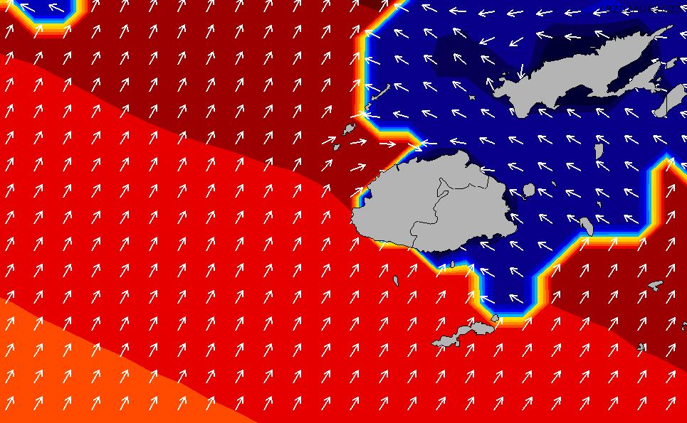 2021/7/31(土)12:00ポイントの波周期